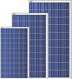 #6: Plaza 125 Watt Polycrystalline Solar Module Range 12 Volt Solar Panel for DC Connection
