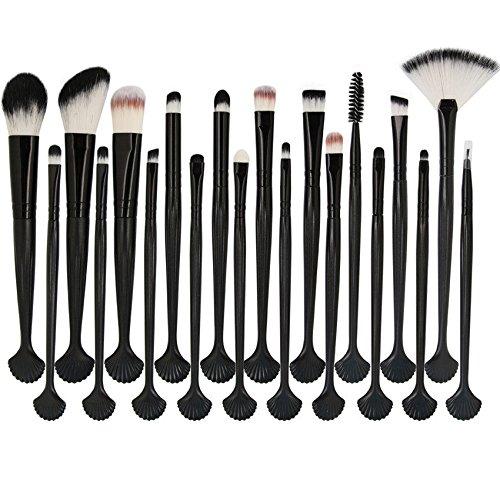 MAANGE 20pcs Set/Kit Maquillage Cosmétique Professionnel Cosmétique Brush Beauté Maquillage Brosse Makeup Brushes Cosmétique Fondation Noir