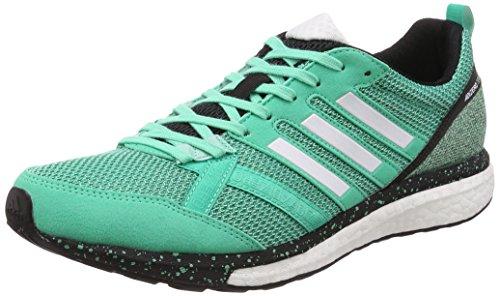 promo code 090e7 3cfc2 adidas Adizero Tempo 9, Zapatillas de Running para Hombre, Verde  (Bgreen Ftwwht