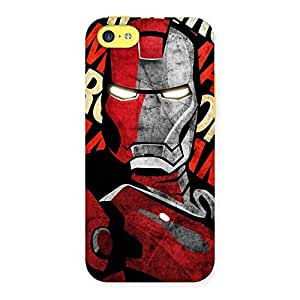 Special Introduction Man Back Case Cover for iPhone 5C