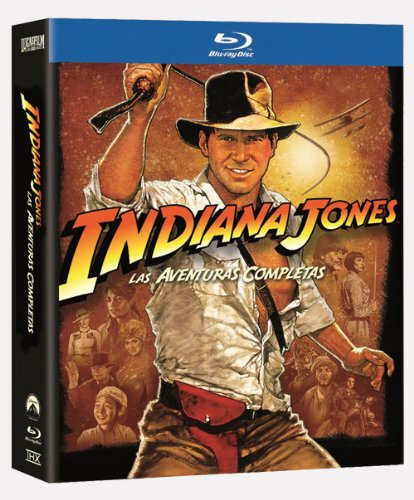 Indiana Jones: Las Aventuras Completas (Pack Blu-ray) [Blu-ray]