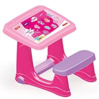Dolu Children Kids Toddler Smart Pink Study Art Drawing Creative Education Learning Activity Desk