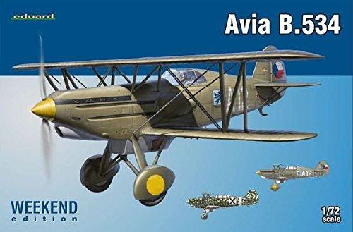 eduard-plastic-kits-7428-modellbausatz-avia-b534-iv-serie-weekend