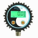 Tutoy 0-10Bar/0-145Psi G1/4 Batteriebetriebener Digitaler Manometer-Druckmessgerät