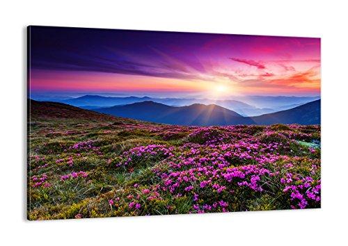 Cuadro sobre lienzo - de una sola pieza - Impresión en lienzo - Ancho: 120cm, Altura: 80cm - Foto número 2719 - listo para colgar - en un marco - AA120x80-2719
