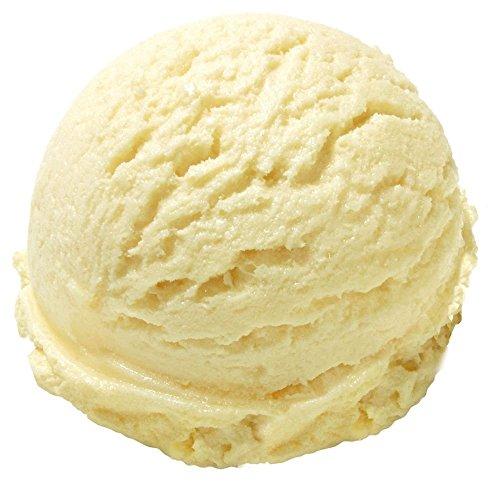 1 Kg Bourbon-Vanille Geschmack Eispulver VEGAN - OHNE ZUCKER - LAKTOSEFREI - GLUTENFREI - FETTARM, auch für Diabetiker Milcheis Softeispulver Speiseeispulver Gino Gelati
