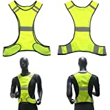 6681f89a9ea6a Ocamo Outdoor Sports Vest Reflective Vest High Visibility Security Gear  Stripes Jacket Polyester Mesh Reflective Vest