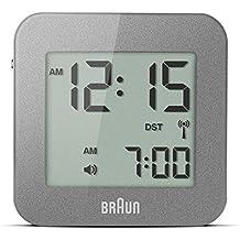Braun BNC008GY-RC - Reloj despertador digital negro