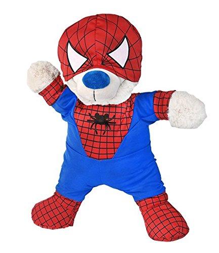 Spidey Teddy Kostüm Teddy Bär Outfit (Spidey Kostüme)
