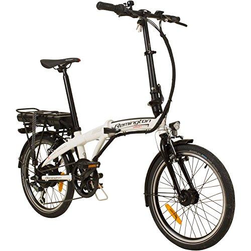 REMINGTON Urban Folder 20 Zoll Faltrad E-Bike Klapprad Pedelec StVZO, Farbe:Weiss