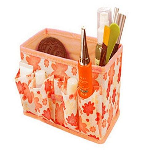 Fami Nuovo trucco cosmetico Storage Box pieghevole stazionario Contenitore - Nuovo Black Box
