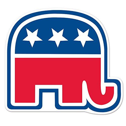 Beistle 54882 Supplies Party-Zubehör Papier rot/weiß/blau (Party Blue Supplies Elephant)