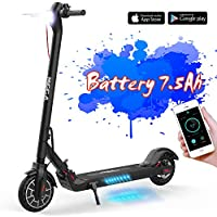 MARKBOARD Electric Scooter, Foldable Scooter Long Range Battery with APP and Bluetooth, 350W Motor, Speed Modes Optional, 8.5 Inches Robust Folding E-Scooter, LCD Display