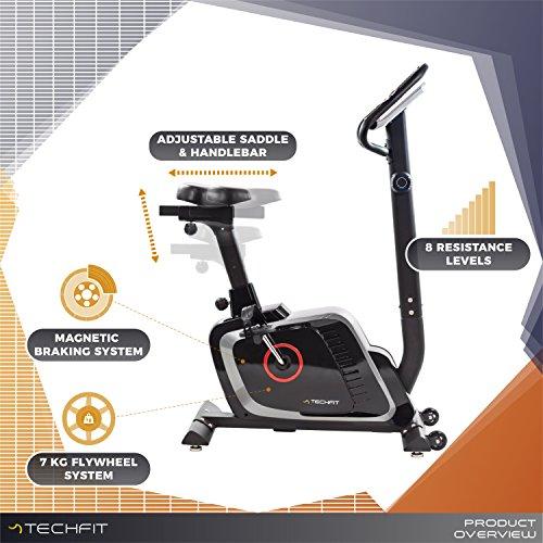 Zoom IMG-1 techfit b470 bicicletta di fitness