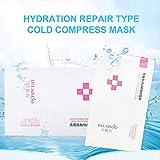 5 adesivi Medical Cold Compress Mask per prevenire allergie, idratante, equilibrio e affinare i pori per grassi.