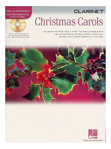 Hal Leonard Instrumental Play-Along: Christmas Carols (Clarinet). Partitions, CD pour Clarinette