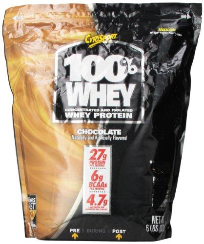 Cytosport 100% Whey Protein Powder, Chocolate, 6 Pound by Cytosport