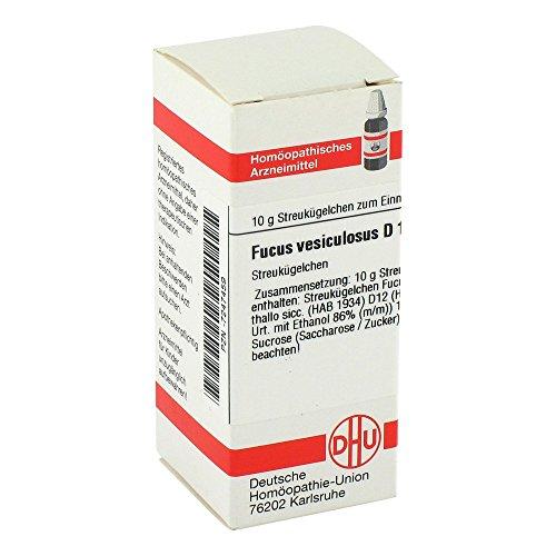 DHU Fucus vesiculosus D12, 10 g Globuli