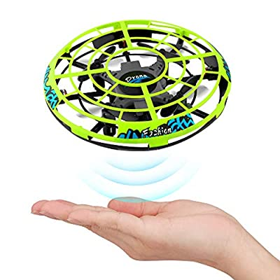 Epoch Air UFO Mini Drone, Kids Toys Hand Controlled Helicopter RC Quadcopter Infrared Induction Remote Control Flying Toys Aircraft Games Gifts for Boys Girls Adults Indoor Outdoor Garden Ball Toys