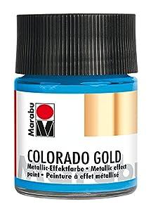 Marabu 12640005753Efecto Color, Metálico de Color Azul Claro