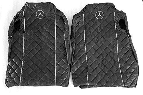 Sitzbezüge Schonbezüge Bezüge Mercedes Actros MP4 nach 2015 Schwarz GRAU Keder