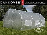 Dancover Foliengewächshaus 3x4,5x2m, 13,5m², Durchsichtig