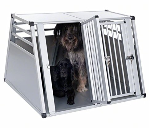 Aluline Robust and Lightweight Double Dog Crate - Safe and Comfortable Way to Transport Larger Dogs when Travelling by… 8