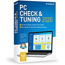 MAGIX PC Check and Tuning 2020 Version|Standard|1 Device|1 Year|PC|Disc