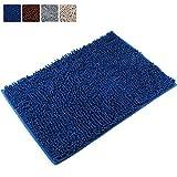 Leefrei Anti-Rutsch-Beschichtung Badematte /Badvorleger /Badteppich / Duschvorleger (50X80cm, Blau)