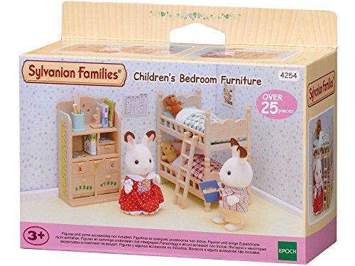 Sylvanian Families- Children's Bedroom Furniture Mini muñecas y Accesorios, Multicolor (Epoch para...