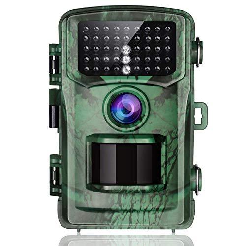 """TOGUARD Caméra de Chasse 14MP 1080P Scoutisme Caméra Détecteur de Mouvement Vision de Nuit avec LCD Écran 2,4"""" IP56 Étanche pour Animaux Sauvages de Chasse et Sécurité à Domicile"""