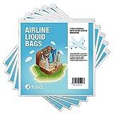 Hava: Air Travel Liquid Cabin Bag Regulation Resealable Bags (Five Pack)