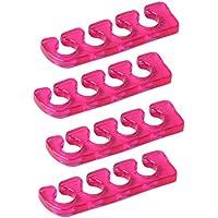 LUQX Zehenspreizer 4 Stück (pink) preisvergleich bei billige-tabletten.eu