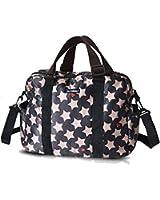 2Pcs/1Set Star Design Large Space Nappy Diaper Bag - Multi Pockets&Stroller Straps - Whaterpoof Design Adjustable Strapcrossbody Bag Shoulder Bag Tote Bag Handbag