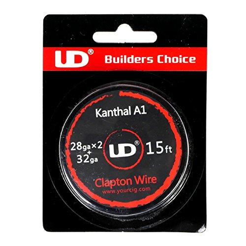 Youde UD Clapton Draht zum Selbstwickeln von Coils, Circa 4.5 m Rolle, 0.2 x 0.3 mm Durchmesser (32 x 28 awg), 1 Stück (Elektrische Zigarette Rollen)
