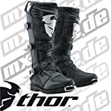 Thor Ratchet Boots , Distinct Name: Black, Size: 12, Gender: Mens/Unisex, Primary Color: Black 3410-0742