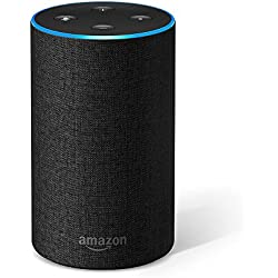 Amazon Echo (2. Gen.), Intelligenter Lautsprecher mit Alexa, Anthrazit Stoff