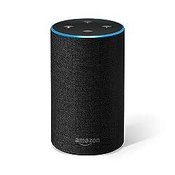 - Amazon Echo verbindet sich mit dem cloudbasierten Alexa Voice Service, um Musik abzuspielen, Anrufe zu tätigen, Wecker und Timer zu stellen, den Kalender, das Wetter, die Verkehrslage und Sportergebnisse abzurufen, Fragen zu stellen...