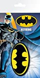 "DC Comics ""Batman Comic"" Logo Key Ring, Multi-Colour"