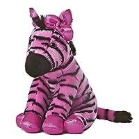 Aurora World Fabulous Zebra Destination Nation Plush Toy (Pink/Black)