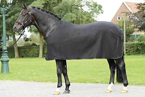 BUSSE Abschwitzdecke BASIC Rückenlänge 145 cm, schwarz