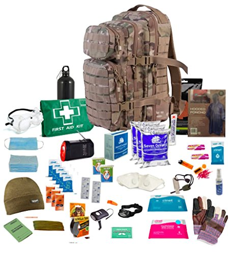 Person-survival-kit (Bug Out Bag ( MTP ) One Person 72hr Emergency Kit, Essential for this day and age (MTP))