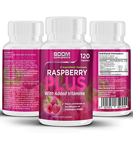 Raspberry Ketones Max Strength | 120 Wild, Powerful Weight Loss Capsules | FULL 2 Month Supply | Helps Shed Fat For Men And Women | Achieve Fat Loss Goals FAST | Safe And Effective | Best Selling Fat Loss Pills | Manufactured In The UK! | Results Guaranteed | 30 Day Money Back Guarantee Test