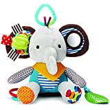 Skip Hop Explore and More Bandana Buddies Elephant (Multi Color)
