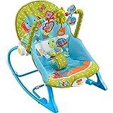 AKTIONSPREIS! Fisher Price Y5706 Wunderwelt 3in1 Schaukelsitz Babyschaukelsitz Füttersitz mit Massagefunktion UVP 99,99 EUR