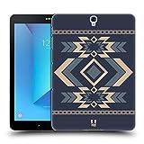 Head Case Designs Stahlblau Neo Navajo Ruckseite Hülle für Samsung Galaxy Tab S3 9.7