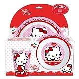 Set de plastico para microondas kids 3 piezas Hello Kitty (1/12)