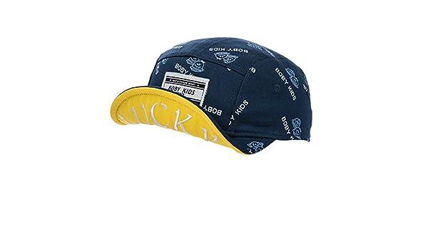 Berretti per bambini Ragazzi e ragazze cappelli Simpatico cartone animato  cappello Cappucci hip-hop rotolo Street Dance-B  Amazon.it  Abbigliamento 16ed1783c601
