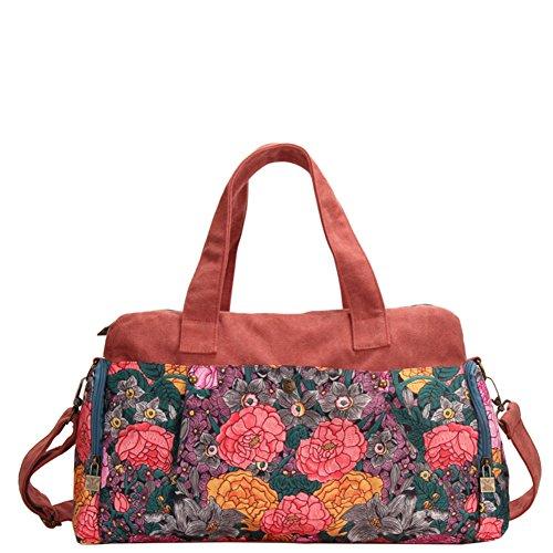 borsa di tela Ms./Tracolla borsa Messenger/totalizzatore-A A