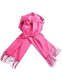 Chal Pashmina de cachemir de moda para la mujer de algodón multicolor con un tacto similar